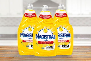 Pack de 3 Lavalozas Magistral 750ml.