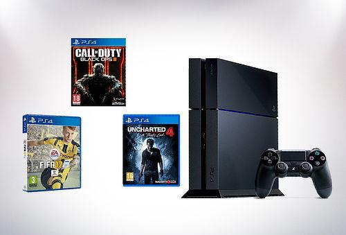 PlayStation® 4 de 500 gb con juego a elección