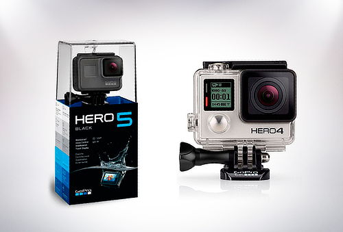 GoPro 4 Silver o GoPro Hero 5 Black