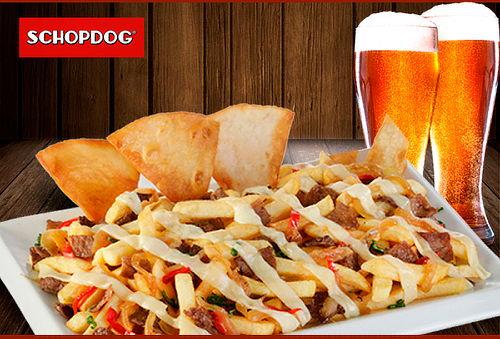 SCHOPDOG®  Grandiosa Luco + 2 Garzas de Cerveza