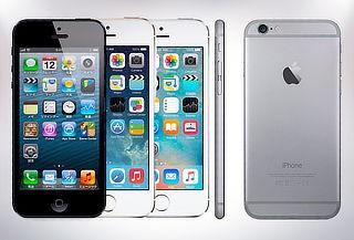 Iphone 5, 6, 6S o 6S Plus reacondicionado con garantía