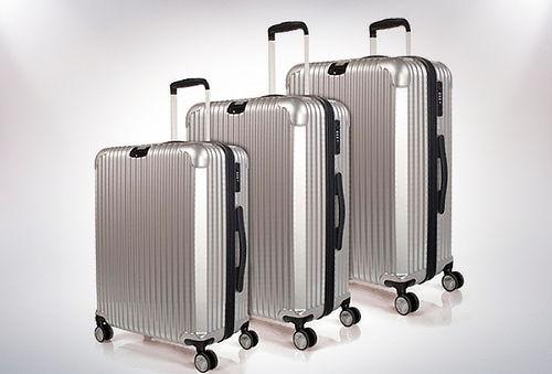 Set de 3 maletas rígidas con ruedas 360º