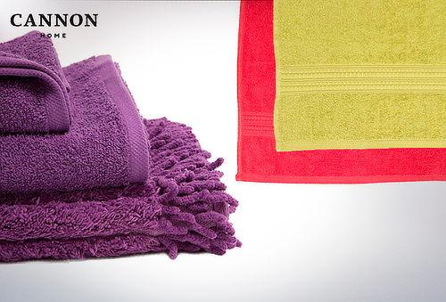 Toalla de cuerpo + toalla de manos + piso de baño Cannon