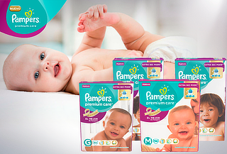 Pack Pampers Premium Care