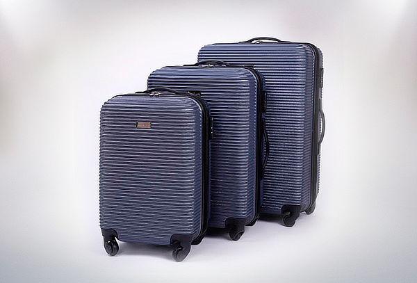 4bbd268e4 Set de 3 maletas rígidas giro 360° Ultralight ABS | Urbania