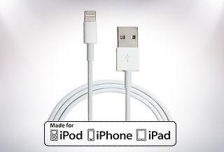Cable Lightning Certificado de 1 Metro para Apple