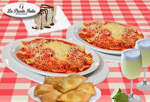 Menú Completo para 2 Personas en Piccola Italia