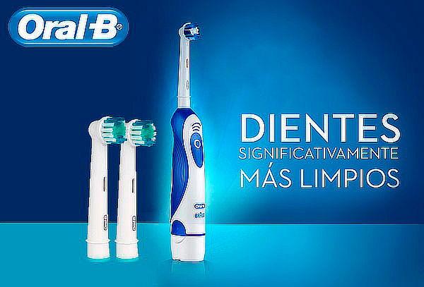 Cepillo Eléctrico Oral-B o 4 Repuestos