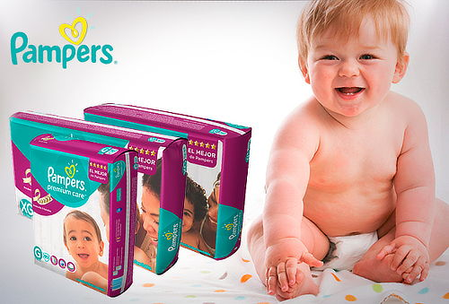 Pack Pañales Premium Care Pampers