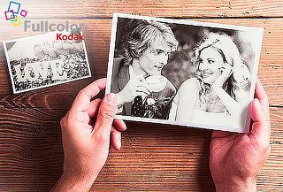 Fullcolor Kodak: 50 o 100 Fotos de 10x15 o 13x18 cm