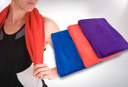 Pack 2 Toallas de Microfibra Tamaño S, 3 Colores a Elección