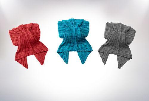Manta Cola de Sirena, 3 Colores a Elección