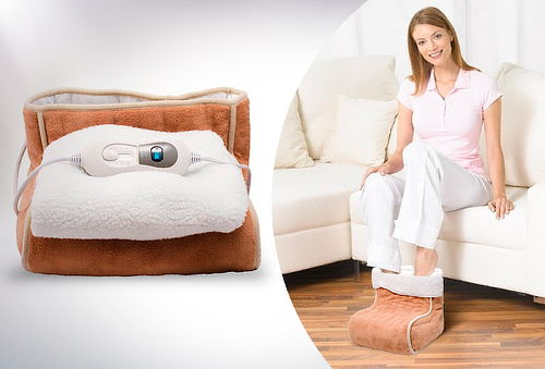 Calentador de Pies con Control de Temperatura Gama