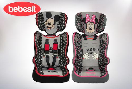 Silla de Auto Bebesit  Disney Minnie/Mickey