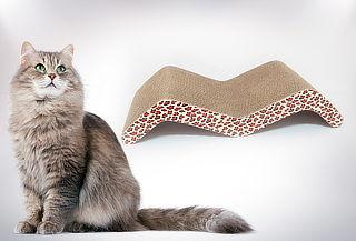 Rascador para Gatos con Ondas