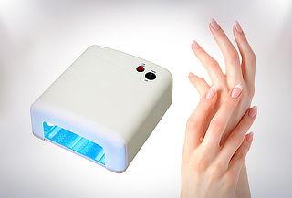 Secador de Uñas Gel y Acrílico con Luz UV