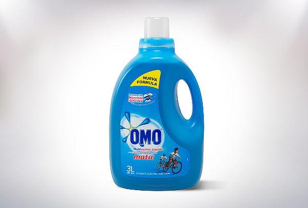Detergente Omo Líquido Multiacción Botella de 3 Litros