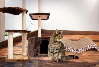 Rascador para Gatos de 1, 2 o 3 Pisos a Elección