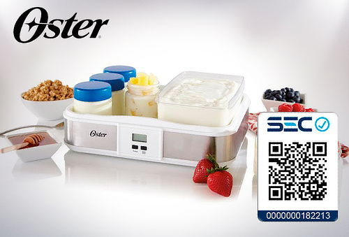 Yogurtera digital programable Oster