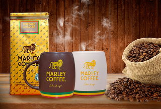 Pack Café Buffalo Soldier 227g + Mug Marley Coffee
