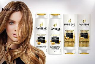 Pack Pantene: 2 Shampoo + 2 Acondicionadores
