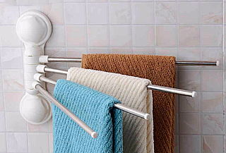Barra para colgar toallas