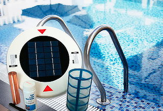 Kit Ionizador Solar para Piscinas