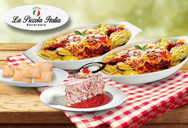 Menú para 2 Personas en Piccola Italia