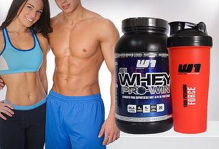Proteína Whey Pro-Win 1 Kg con Opción + Shaker, Variedades