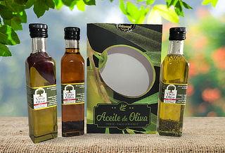 Pack 3 Botellas de Aceite de Oliva 250 cc Condimentados