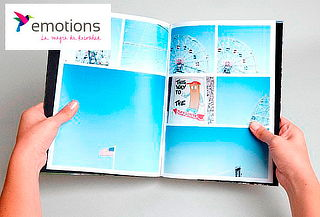 Photobook Revista Tapa Dura 50 Páginas en Emotions