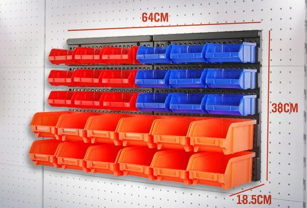 Organizador de herramientas de 30 piezas para pared - Organizador de herramientas ...