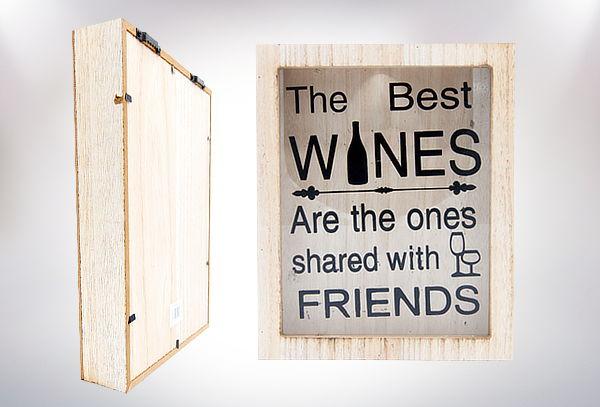 Cuadro Decorativo para Corchos de Vino