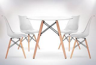 Mesa de Comedor Blanca Eames