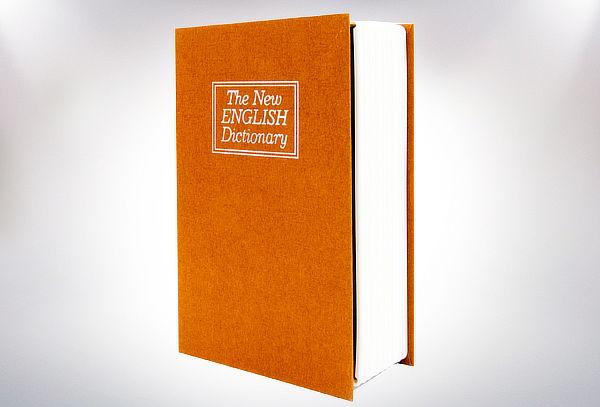 Caja de Seguridad para Dinero y Joyas Diseño Libro