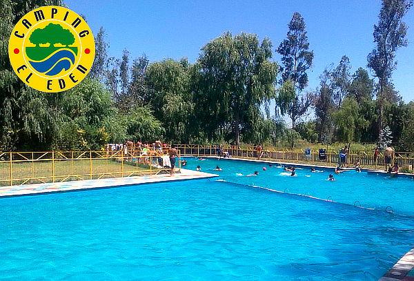 Entrada piscina en camping el ed n for Entrada piscina