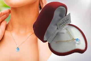 Collar Colgante Gotita de 12 mm Cristal Swarovski