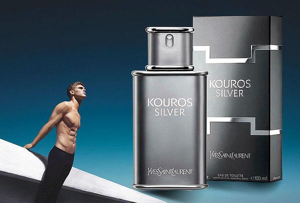 Perfume YSL Kouros Silver 100 ml para Hombre