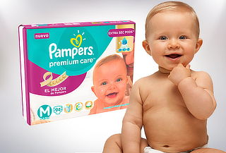 Pack Pampers Premium Care Talla M