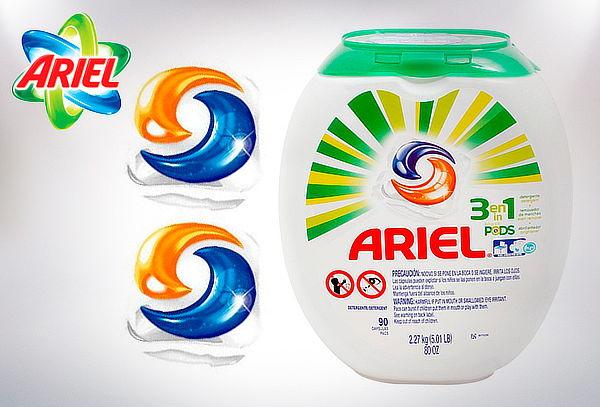 Detergente Líquido Ariel Pods 90 Cápsulas