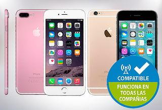 iPhone 5C, 5S, SE, 6, 6S o 7 Reacondicionado con Garantía