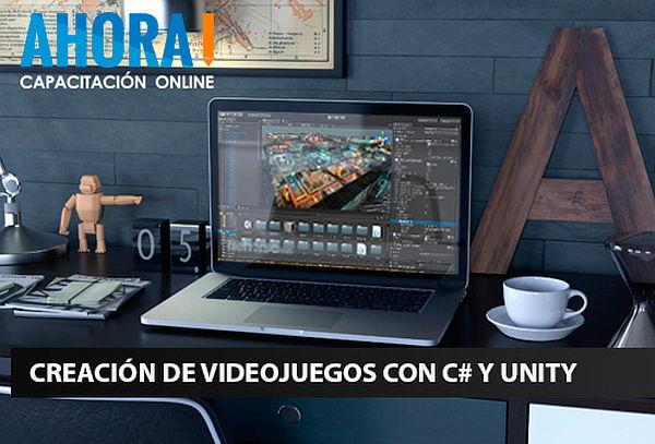 Curso Online de Creación de Videojuegos con C# y Unity