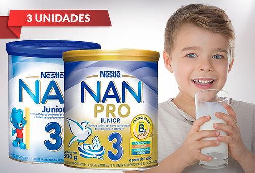 Pack 3 Tarros NAN® PRO 3 o NAN® 3