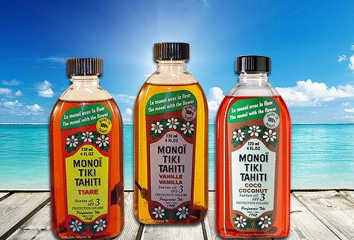 Aceite Bronceador Monoï Tiki Tahiti
