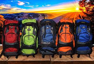 Mochila para Camping de 70 Litros, Color a Elección
