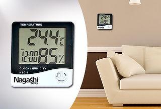 Medidor Digital de Temperatura y Húmedad