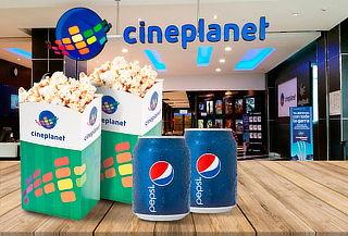 2 Entradas HD+2 Bebidas+2 Popcorn Chicos