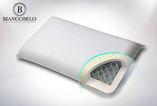 Almohada con Sistema de Resortes Biancobelo
