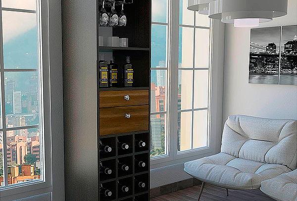 Mueble Bar para Living