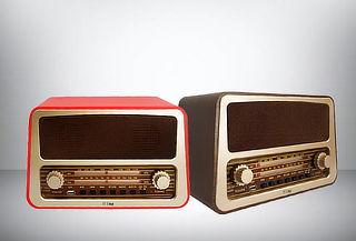 Radio Bluetooth Vintage, Color a Elección